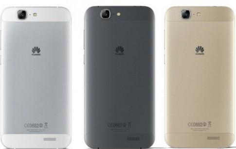 Huawei ra phablet dáng mỏng mặt lưng kiểu iPhone