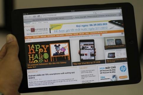 iPad 5 và iPad Mini 2 có thể ra mắt vào tháng 3