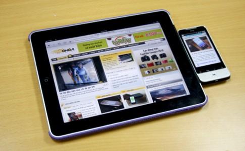 iPad 7 inch nặng chưa đầy 500 gram