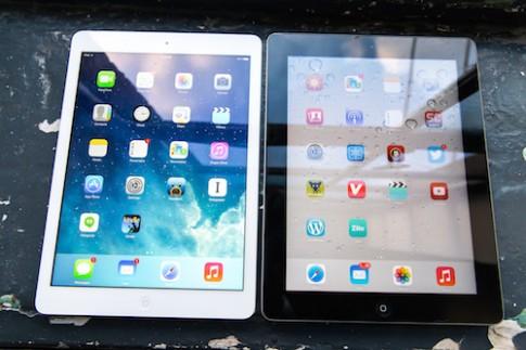 iPad Air 2 có thể tích hợp RAM 2 GB hỗ trợ đa nhiệm