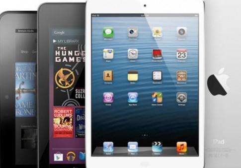 iPad bị máy tính bảng Android phế ngôi vương