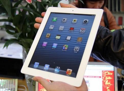 iPad dung lượng 128 GB về Việt Nam