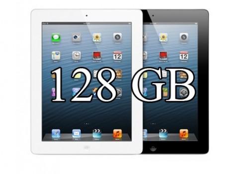 iPad lần đầu có phiên bản 128 GB