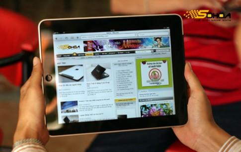 iPad màn hình 7 inch có 512MB RAM như iPhone 4