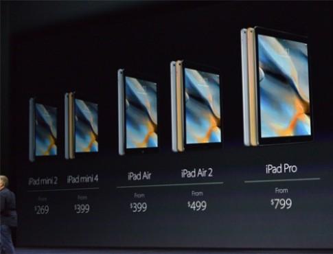 iPad Mini 4 được giới thiệu chỉ trong 30 giây