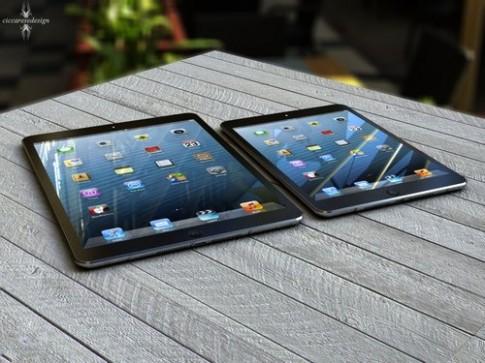 iPad Mini mới có thể ra mắt sau khi iPad 5 trình làng tháng 9