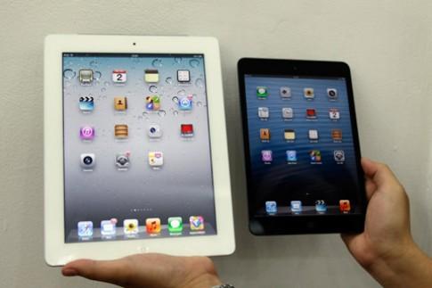 iPad Mini so kích thước với iPad 3