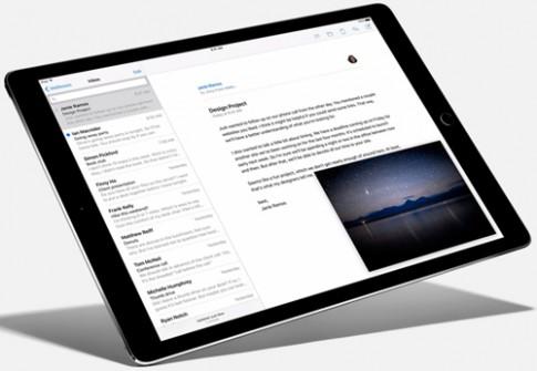 iPad Pro trình làng với bút viết, bàn phím tháo rời