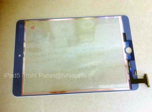 iPad thế hệ 5 dùng tấm nền màn hình giống iPad Mini