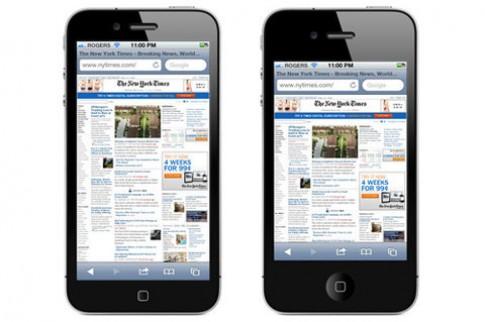 iPhone 3,9 inch có thể đang được thử nghiệm