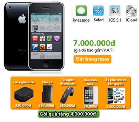 iPhone 3GS phiên bản 2012 được phân phối tại HnamMobile