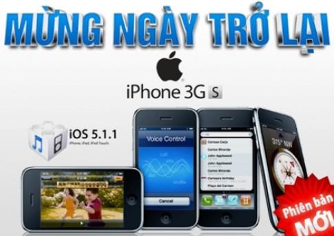 iPhone 3GS phiên bản mới mừng ngày trở lại