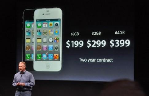 iPhone 4S bắt đầu cho đặt hàng