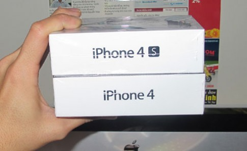 iPhone 4S duoc cho la da ve Viet Nam