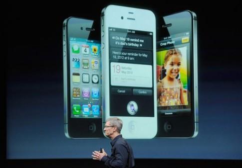 iPhone 4S gây thất vọng sau buổi ra mắt