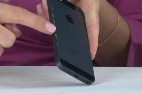 iPhone 5 bị tróc viền máy