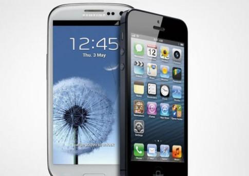 iPhone 5 đánh bại Galaxy S III về khả năng hiển thị