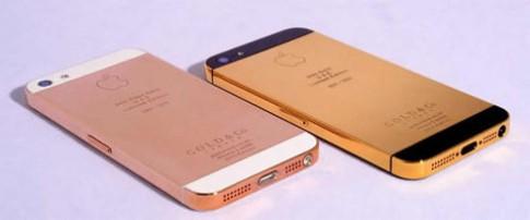 iPhone 5 đầu tiên được dát vàng 24 carat