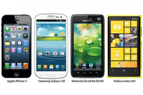 iPhone 5 đọ cấu hình với 3 smartphone đình đám nhất