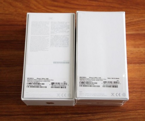 iPhone 5 lạ tại TP HCM