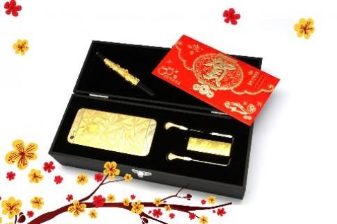 iPhone 5 mạ vàng Power Gold mừng năm mới