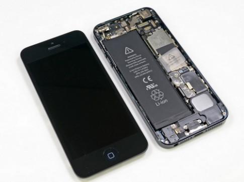 iPhone 5C và 5S đều có pin lớn hơn iPhone 5