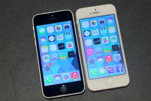 iPhone 5C vỏ nhựa đọ dáng với iPhone 5