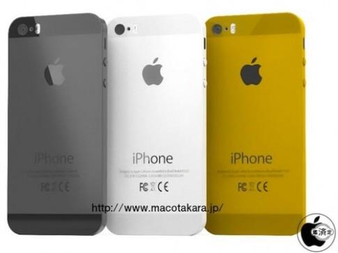 iPhone 5S có thể thêm bản màu vàng, phím Home bằng Sapphire