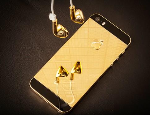 iPhone 5S đầu tiên được mạ vàng tại Việt Nam
