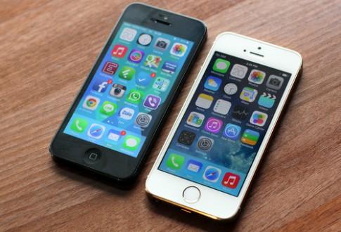 iPhone 5S đọ thiết kế với iPhone 5