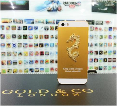 iPhone 5S khảm rồng giá 88 triệu đồng