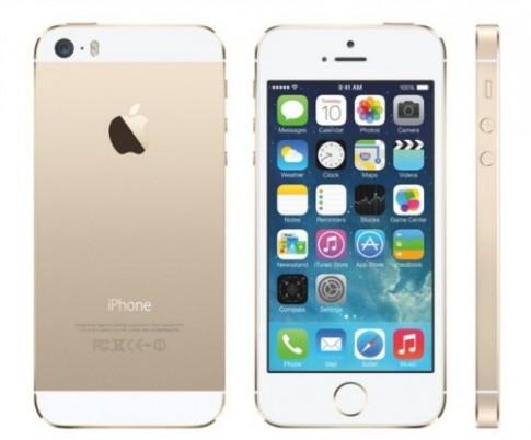 iPhone 5S vỏ vàng
