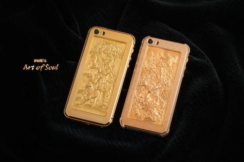 iPhone 5S vỏ vàng giá 180 triệu đồng