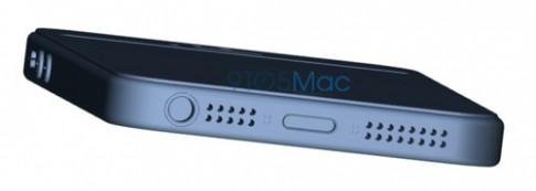 iPhone 5se lộ ảnh thay đổi vị trí nút nguồn