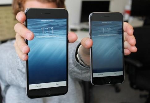iPhone 6 bán chạy gấp 3 lần iPhone 6 Plus tại Mỹ