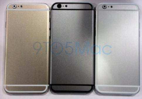 iPhone 6 màn hình 4,7 inch có 3 màu, ra mắt vào tháng 8