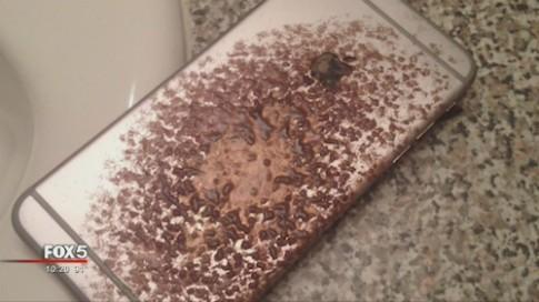 iPhone 6 Plus bất ngờ bốc cháy trong khi sạc