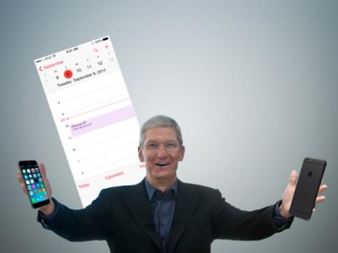 iPhone 6 ra sau Galaxy Note 4 một tuần