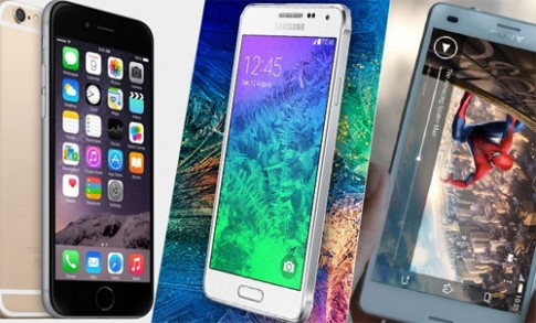 iPhone 6, Sony Xperia Z3, Galaxy Note 4 giấu mặt đọ camera