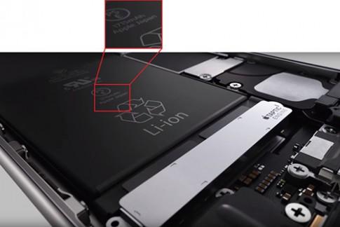iPhone 6s có pin thấp hơn iPhone 6, thời gian chờ 10 ngày