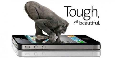 iPhone dùng kính chịu lực Gorilla Glass