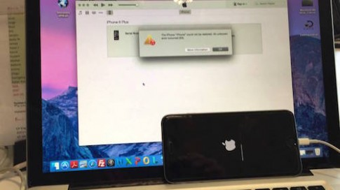 iPhone thành 'cục gạch' nếu bị can thiệp vào phím Home