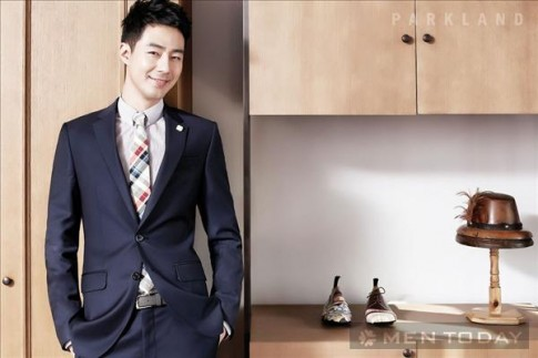 Jo In Sung lịch lãm trên tạp chí thời trang