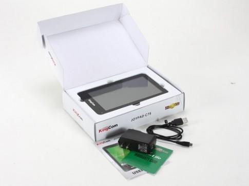 JoyPad C75 - tablet 7 inch mỏng nhất của KingCom