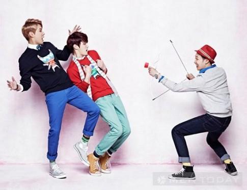 JYJ cực teen trong BST Xuân Hè 2013 đầy sắc màu của NII