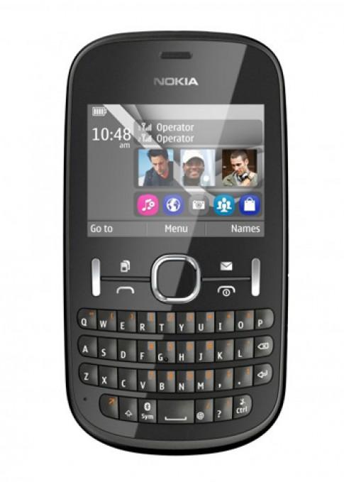Kết nối mạng xã hội thoải mái cùng Nokia Asha 200