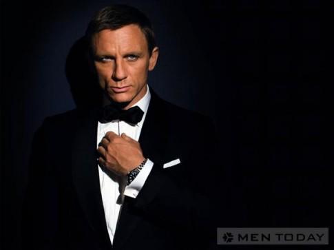 Khám phá bộ suit của các chàng James Bond