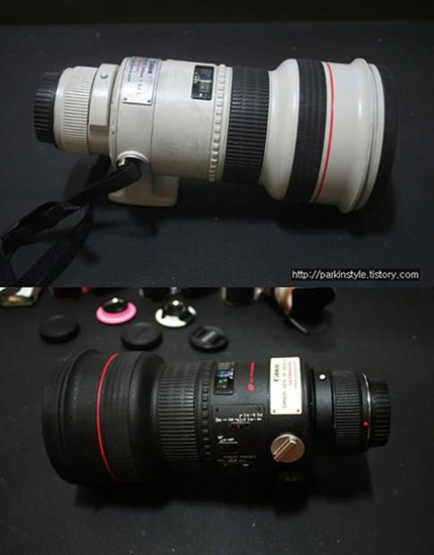 Khoác 'áo mới' cho ống kính máy ảnh