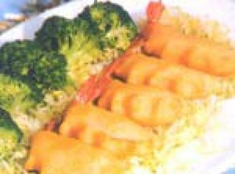 Khoai tây bọc tôm