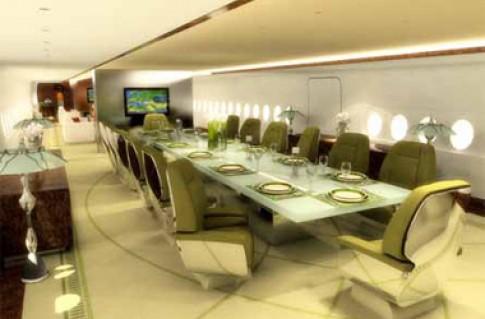 Không gian sành điệu nhất trên A380